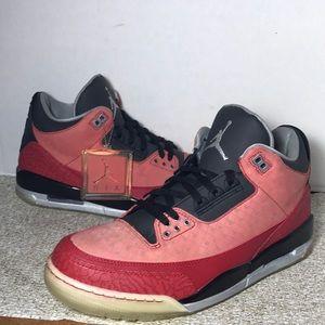 b0768505cdf Jordan Shoes - 🔥SALE🔥 Red AIR JORDAN Retro 3 DB Shoes Size 12